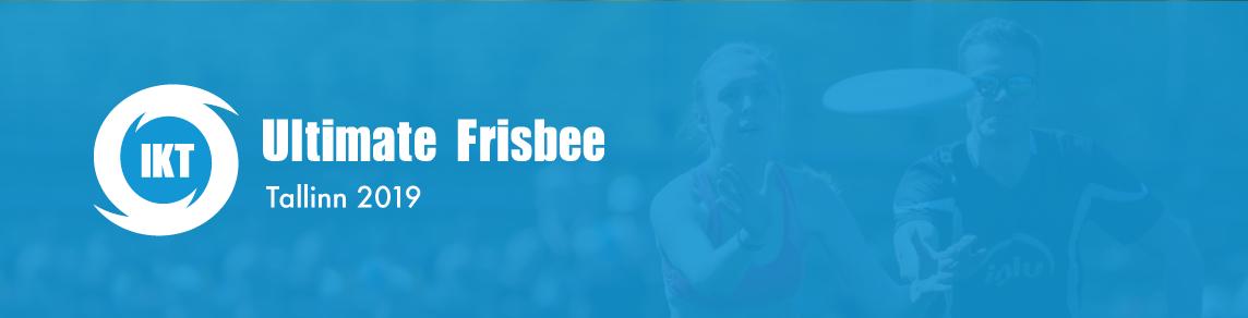 IKT Ultimate Frisbee – Tallinn 2019